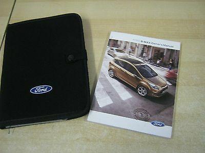 Ford B-Max ) Owners Manual - Owners Guide - Handbook Pack 2012-2017