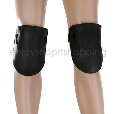 1 Pair Black Foam Knee Pads Protectors Support Cushion Gardening Builder New