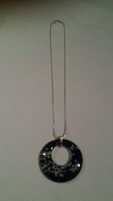 Gorgeous Silver Chain Necklace with Pendant