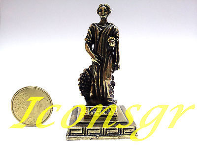 Ancient Statue Hera Queen Of God Greek Olympian God Miniature Sculpture Zamac G