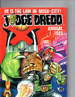 Judge  Dredd Annual 1985 : Featuring The Judge For He Is The Law In Mega - City