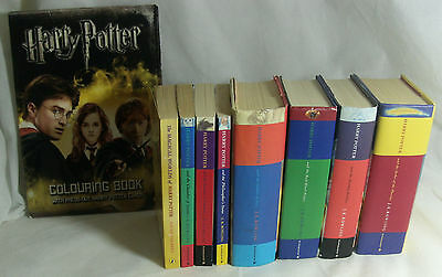 Complete Full Set of Harry Potter Books 1-7 Paperback & Hardback, First Editions
