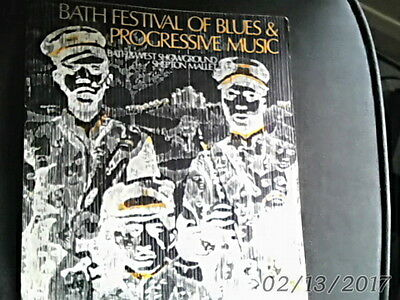 Bath Festival Of Blues And Progressive Music Programme 1970 Rare!