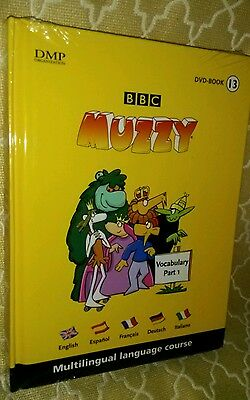 New Muzzy Dvd Book 13 Vocabulary Part 1 Multilingual Language Course