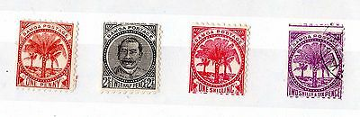 Samoa Early Mint/VFU Collection of 4 X5490