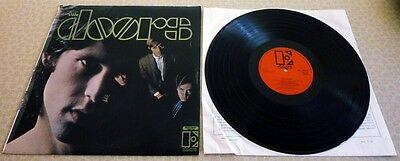 THE DOORS, SELF TITLED  1967 1st ISSUE UK STEREO ORANGE ELECTRA RECORD LABEL LP.