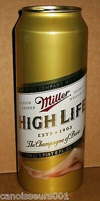 MILLER HIGH LIFE 24 oz Beer Can Blowout #2 - GIRLIE CAN