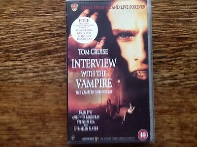 Interview With The Vampire - Vhs Video