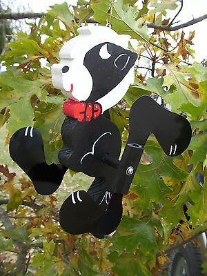 Skunk Mini Whirligigs Whirligig Windmill Yard Art Hand made from wood