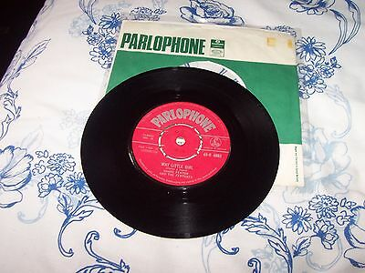 shane fenton and the fentones. why little girl- its all over now. parlophone 45-