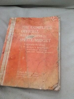 Spriite/Midget manual