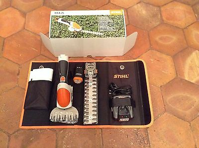 Stihl hsa 25 taille haie coupe bordure