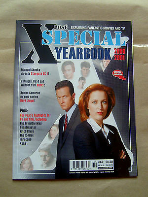 X-Pose Magazine Special Yearbook 2000 - 2001 With X-Files Cover