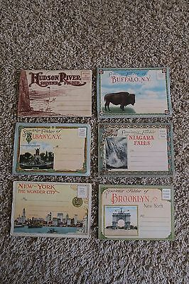 Vintage New York Postcards - Lot of 24 Albany, Hudson River, Brooklyn, Niagara
