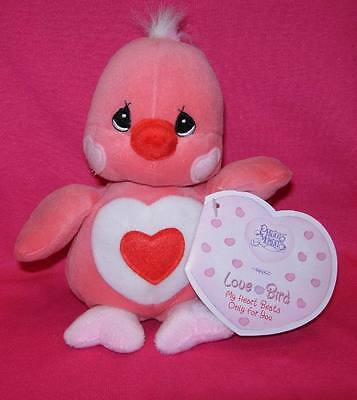 Precious Moments Tender Tails LOVE BIRD Valentine Plush Bird New With Tags