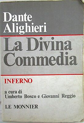 X 0882 VOLUME LA DIVINA COMMEDIA – VOL. 1: INFERNO DI U. BOSCO e G. REGGIO