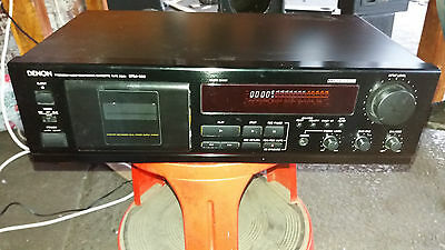 Denon Cassette Player Stereo Hi-Fi Separate DRM550