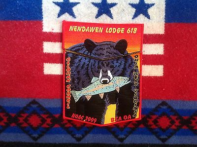 OA 2009 NOAC Nendawen Lodge Flap