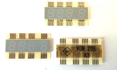VQH206 RFT 7-segment LED Display Common Anode -- Rare (1 pcs)