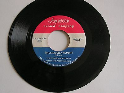 The Stinson Brothers-Walking On A Memory/the Dreams Of An Old Man-American-30158