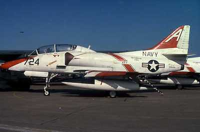 Original aircraft  slide  US NAVY  TA-4J  A724 /158144