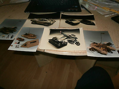 Palitoy Action Man 6 Photos Of Prototype Vehicles Chadwick Photography  Rare