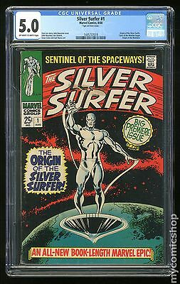 Silver Surfer (1968 1st Series) #1 CGC 5.0 (1445737019)