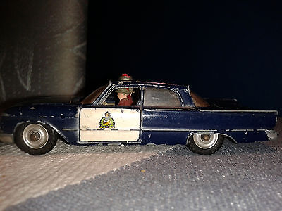 VINTAGE DINKY TOYS No:258 FORD FAIRLANE POLICE CAR
