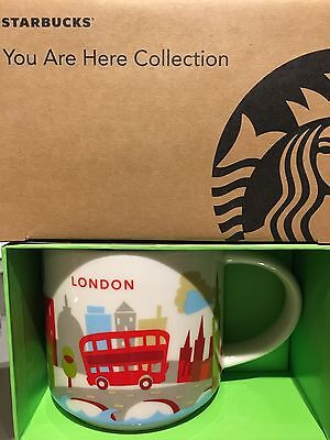 Starbucks * LONDON * City Mug YOU ARE HERE SERIE XL Tasse NEU