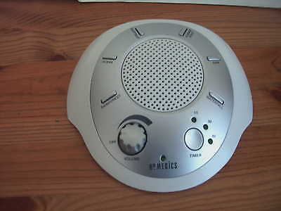 Homedics Sound Spa Machine  With 6 Soothing Natural Sounds Helps Sleep