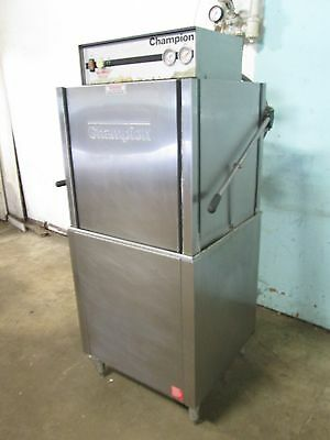 """champion Dh1"" Heavy Duty Commercial High-Temp Door-Type Dishwasher Machine"