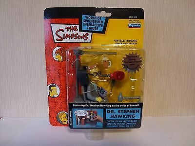 Simpsons World of Springfield WoS Interactive Action Figure Dr Stephen Hawking