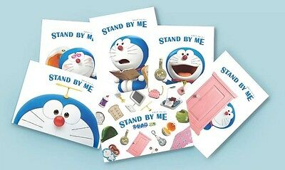 Rare - Stand By Me - Doraemon Collectible Postcards - Limited Edition