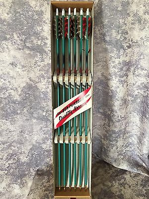 Vintage 12 Ben Pearson Select Practice Arrows Unused In Original Box NOS