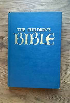 THE CHILDRENS BIBLE ILLUSTRATED IN COLOUR by Paul Hamlyn hardback