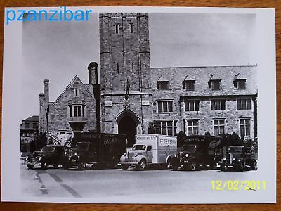 1990s Photographic Postcard - Trucks of the 40s and 50s - Norwood Company Fleet