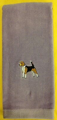 Beagle, Hand Towel, Embroidered, Custom, Personalized, Dog