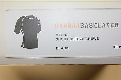 ENDURA BAABAA BASE LAYER Funktionsunterhemd BLACK