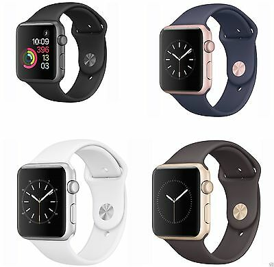 Apple WATCH Series 1 42MM Aluminum Case Sport Band - All Colors
