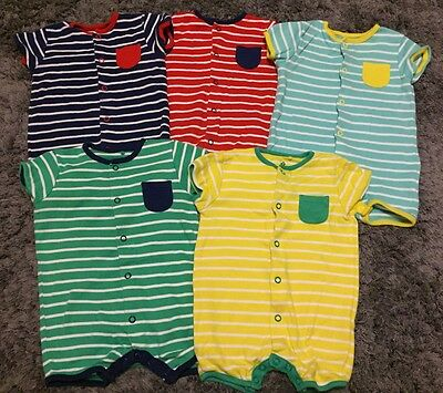 5x Little Boys Rompers From Next 3-6 Months