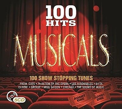 Various Artists - 100 Hits: Musicals / Various [New CD] UK - Import