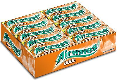 30 x Wrigley´s Airwaves Chewing Gum (COOL ICE FRUIT) **FREE SHIPPING**