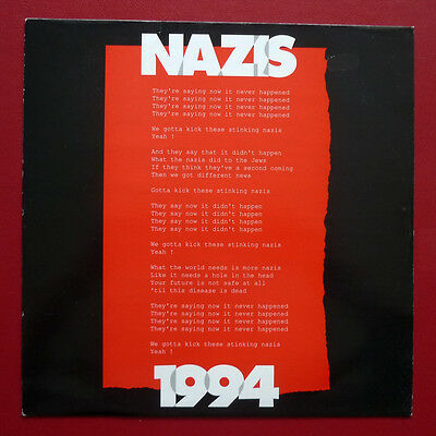 "ROGER TAYLOR - Nazis 1994 (1994 UK PROMO 12"" single in PS) Queen"