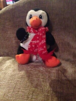 Coca Cola Penguin With Scarf 1998
