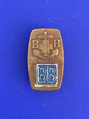 Boys Brigade Pin Badge with added BB emblem