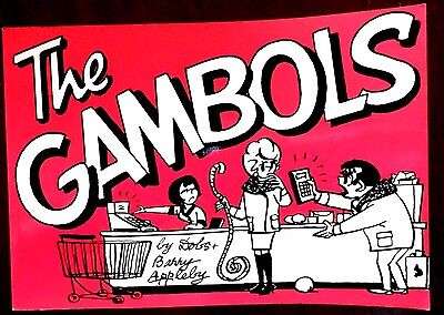The Gambols, Newspaper Comic Strip Book No 32, 1983 Edition by Dobs and Barry