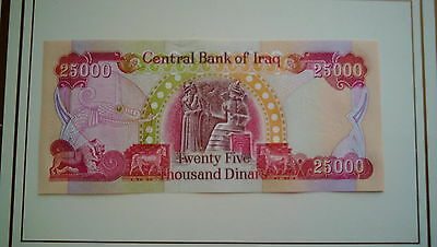 25000 New Iraqi Dinar Banknotes Uncirculated