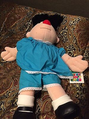 30 inch big plush molly  doll. From big comfy couch