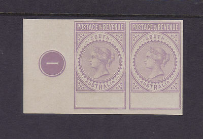 South Australia 1886-96 'POSTAGE & REVENUE' Imperforate plate proof Blank Value