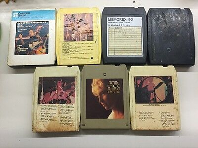 8-Track Tapes Lot of 7